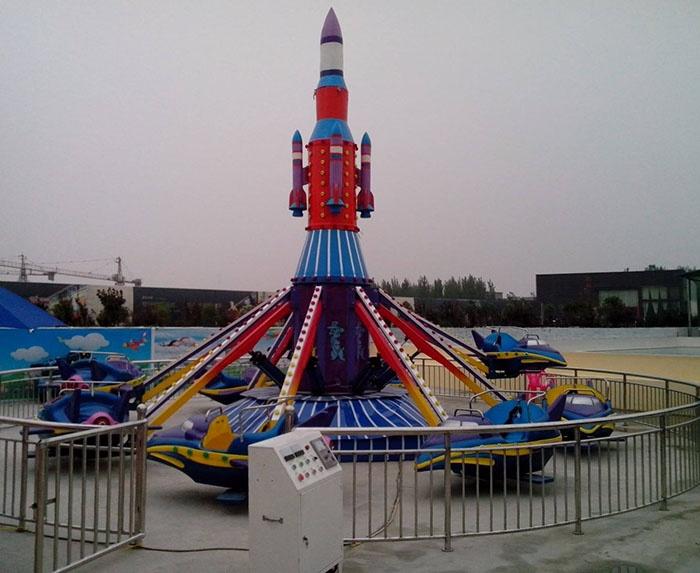 大型游乐设备自控飞机