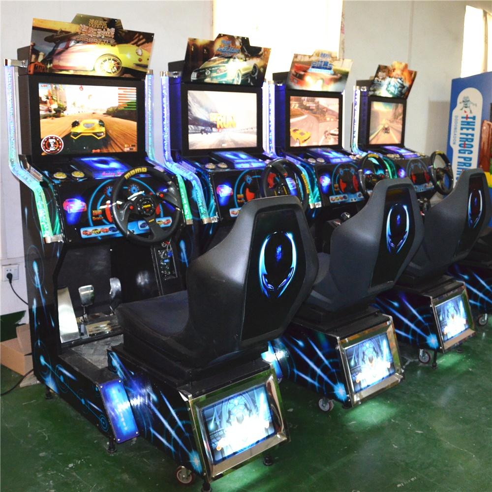 儿童电玩赛车游戏机