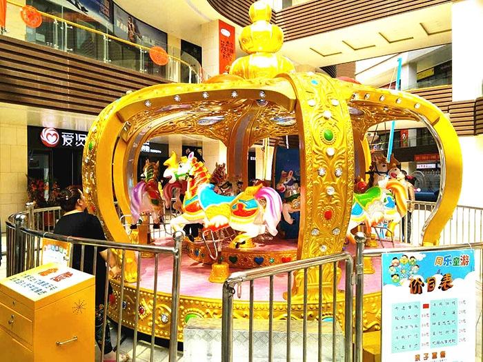 大型游乐设备儿童豪华转马