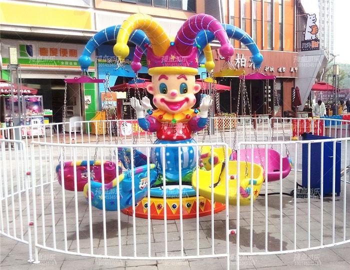 适合摆摊广场新款儿童娱乐项目飞椅