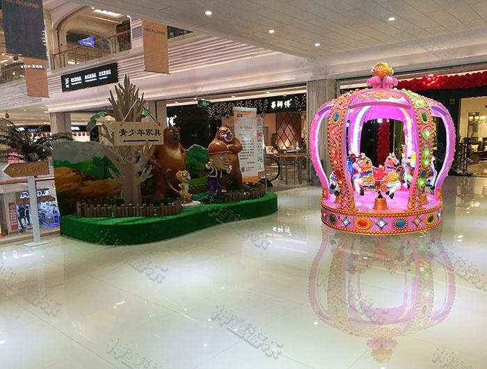 皇冠战马6座(粉)