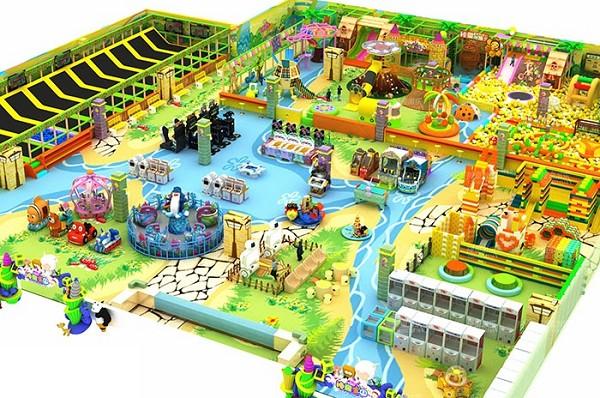儿童乐园场地效果图