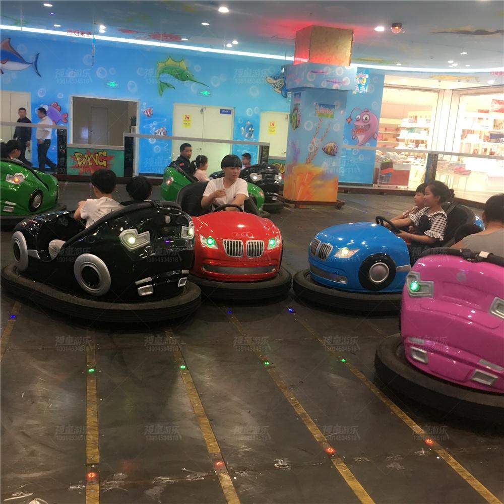 儿童游乐场地网碰碰车