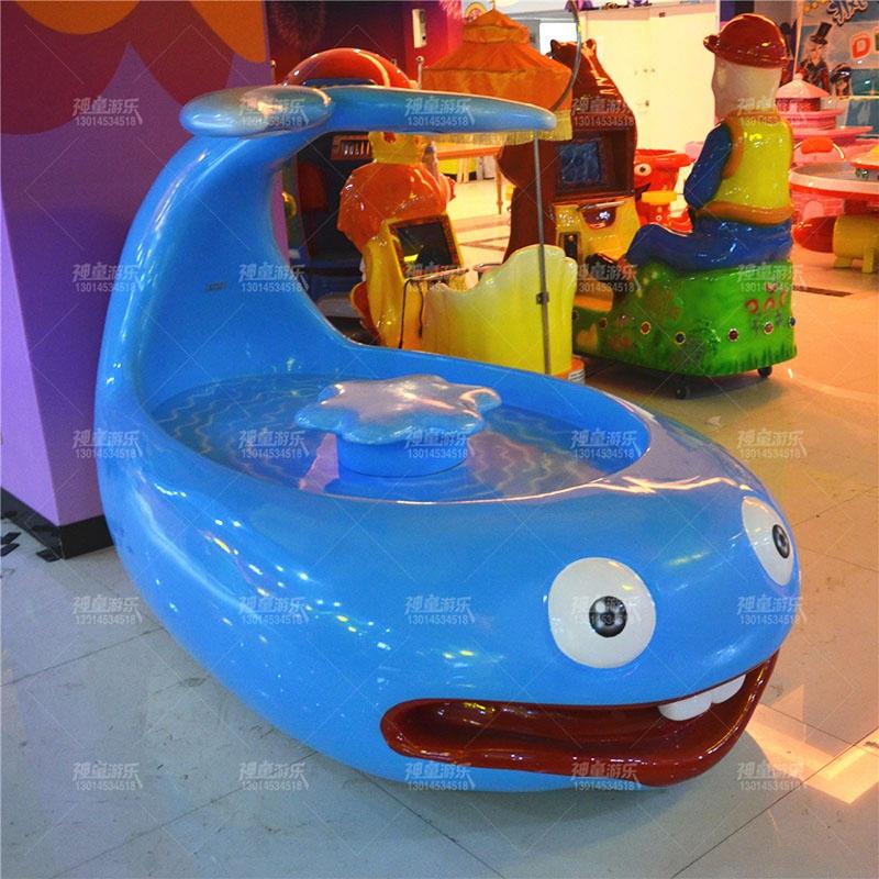 儿童乐园玻璃钢沙桌鲸鱼沙桌