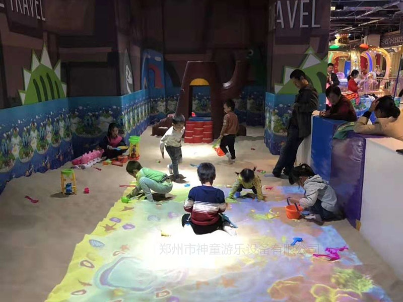 儿童乐园魔幻沙池