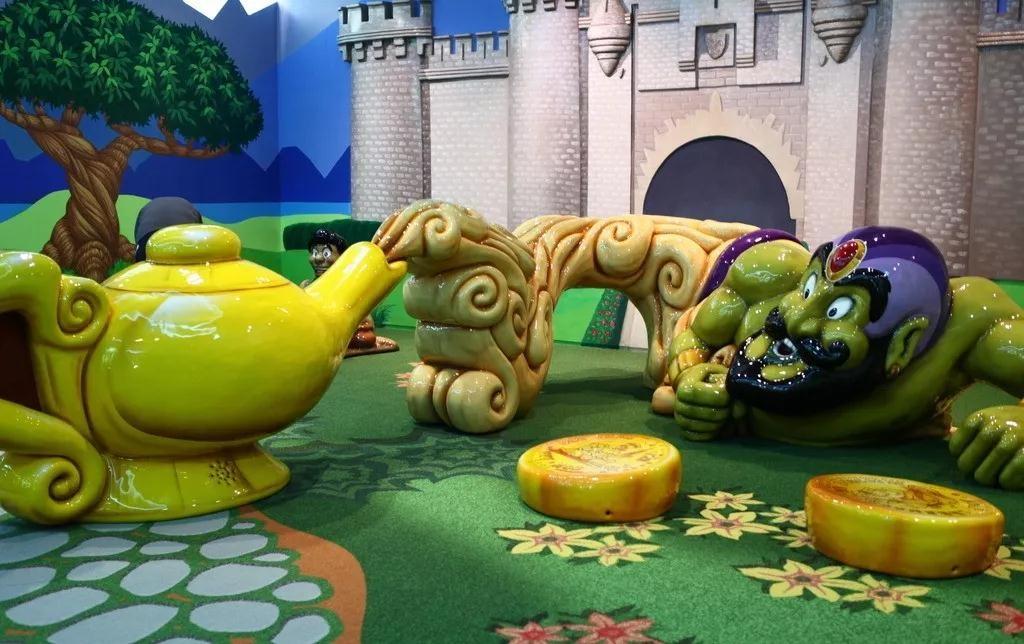 无动力新型儿童乐园