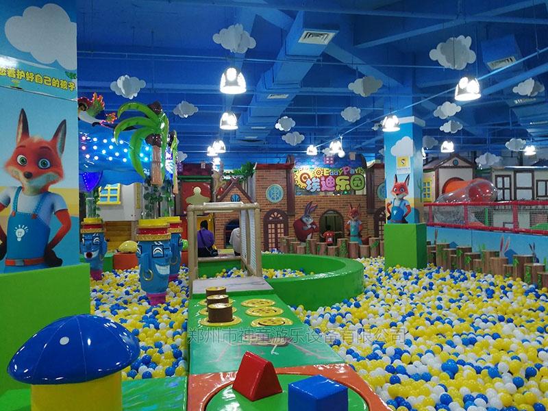 新型淘气堡乐园埃迪乐园