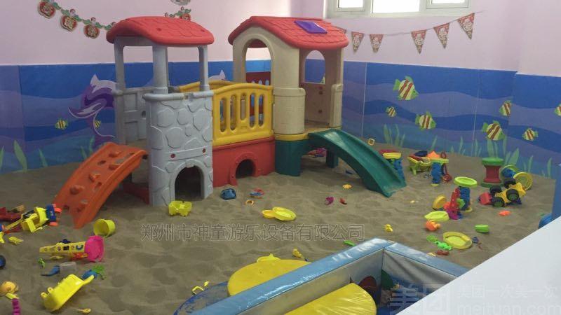 儿童乐园沙池