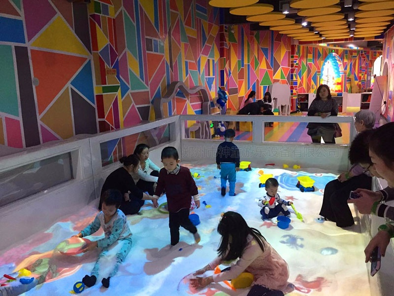 儿童乐园互动沙池