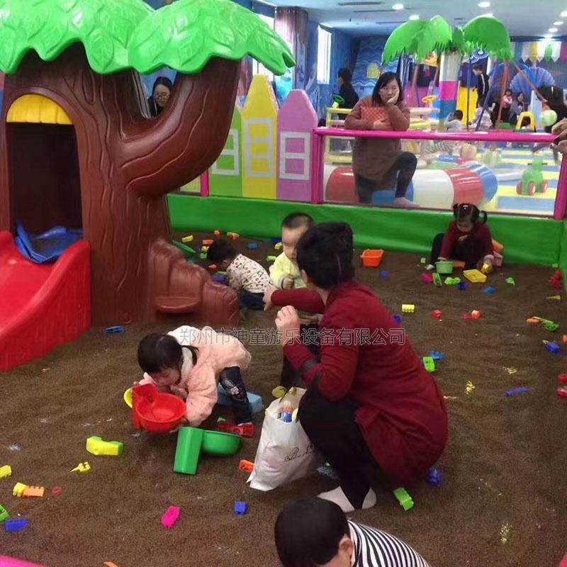 儿童游乐场沙池乐园