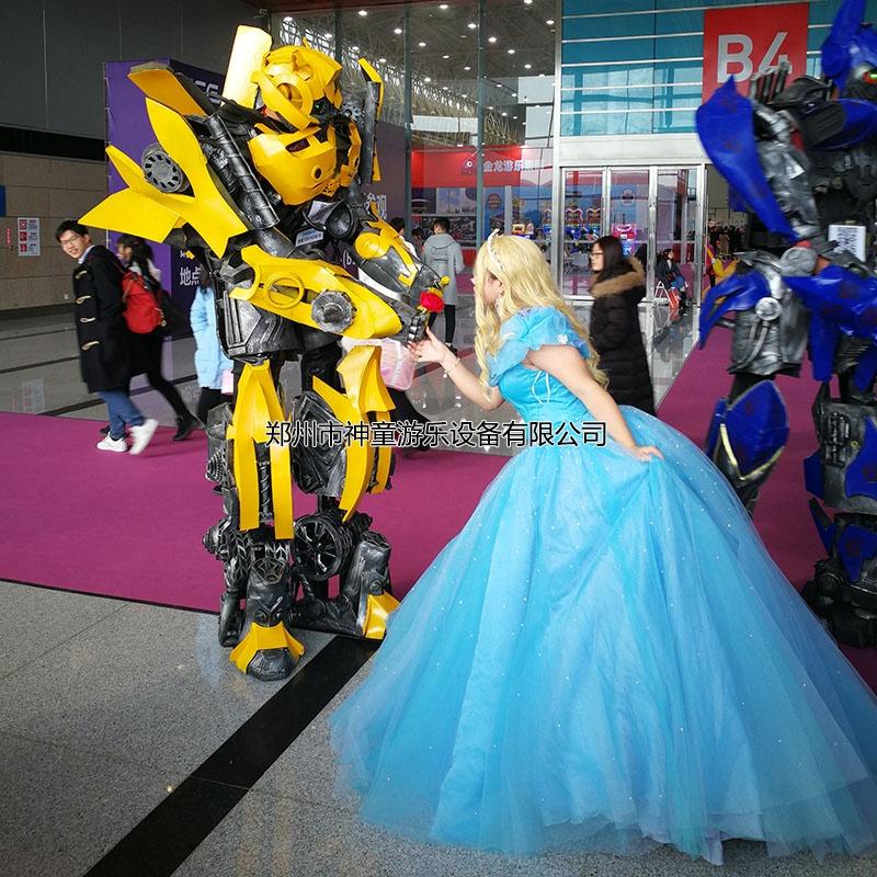 变形金刚机器人变身衣